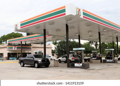 Mirimar, FL-USA May 08, 2019:  7-Eleven or 7-11 is an international chain of convenience stores. 7-Eleven is the world's largest operator of convenience stores.