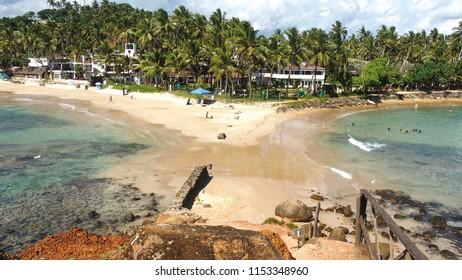 Mirissa Double Beach, Sri Lanka