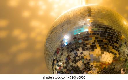 mirror ball , disco ball party