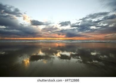 Mirror Image at Sunset