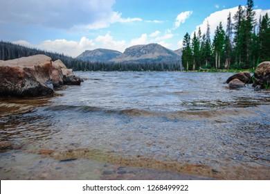 Mirror Lake in Spring