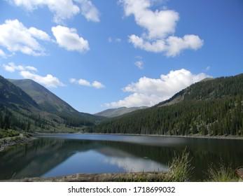 Mirror Lake, Taylor Reservoir, Colorado