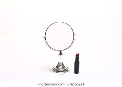 Mirror and makeup