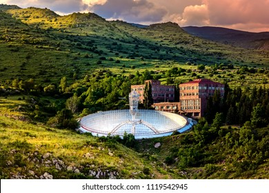Mirror Radio Telescope. Armenia