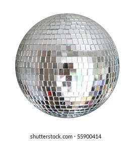 mirror sphere isolated