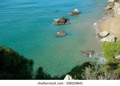Mirtiotissa Beach, Corfu Trail, Greece