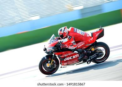 Misano Adriatico, Italy, August 30 2019 4 ANDREA DOVIZIOSO DUCATI during Official Test Motogp MotoGP