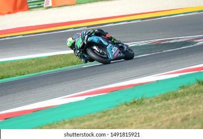 Misano Adriatico, Italy, August 30 2019 21 FRANCO MORBIDELLI YAMAHA PETRONAS during Official Test Motogp MotoGP