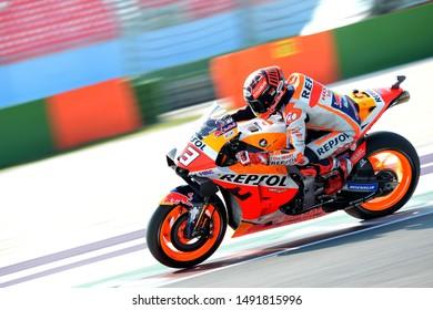 Misano Adriatico, Italy, August 30 2019 93 MARC MARQUEZ HONDA during Official Test Motogp MotoGP