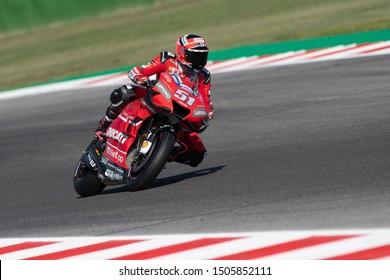 Misano Adriatico, Italy, September 13 2019 MICHELE PIRRO, ITALIAN DUCATI WILDCARD NUMBER 51 IN MOTOGP  during Friday Free Practice (fp1-fp2) Of The Motogp Of San Marino And Riviera Of Rimini  MotoGP