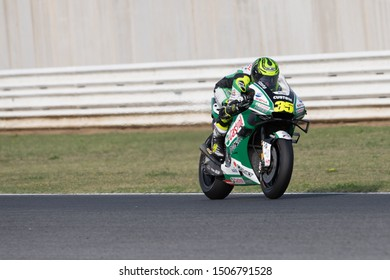 Misano Adriatico, Italy, September 15 2019 CAL CRUTCHLOW, BRITISH RIDER NUMBER 35 FOR HONDA LCR TEAM IN MOTOGP  during Sunday Warm-up & Race Of The Motogp Of San Marino And Riviera Of Rimini  MotoGP