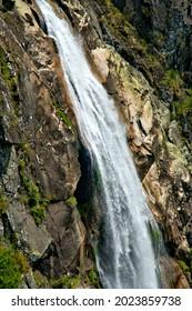 Misarela waterfall in Arouca, Portugal