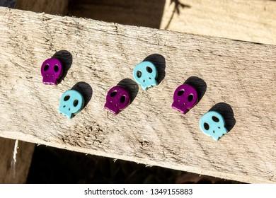 misc skull heads