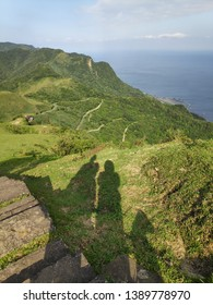 The Miscanthus on the Cao Ling Ancient Trail in the northeast corner of Taiwan