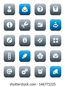 Miscellaneous buttons. Icons for websites and interface elements. Vector version is also available.