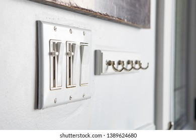Miscellanous Items Household Power Push Button Toggle Switches Hanging Hooks Combination Set