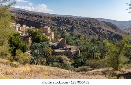 Misfat Al Abriyeen is a remote mountainside village in the Al Hamra province of Oman