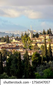 Mishkenot Shaananim and Yemin Moshe - first Jewish neighborhoods of Jerusalem outside the Old City, built on a hill opposite Mount Zion