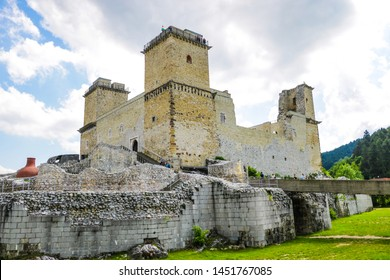 Miskolc, Hungary, May 20, 2019: The Fortress Diosgior in Miskolc.