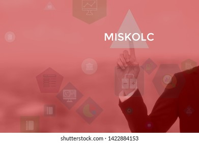 MISKOLC - technology and business concept