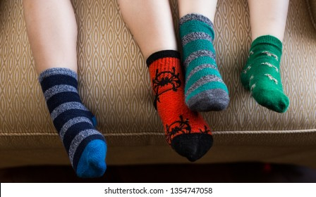 Mismatched socks for World Down Syndrome Day