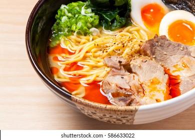 Miso Ramen, Japanese Noodles