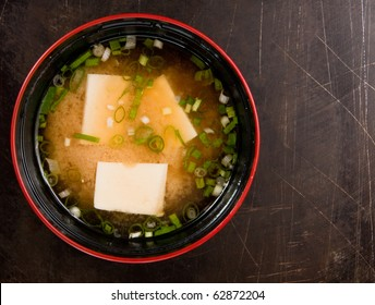 Miso soup , Japanese Food.