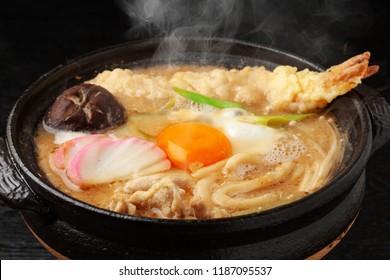 Miso stewed udon