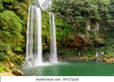 Misol Ha Waterfall, Mexico
