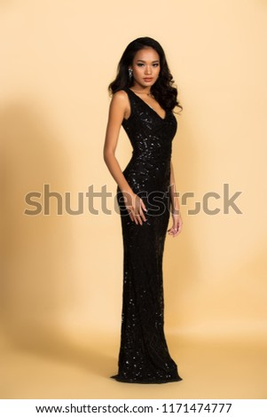 Miss Beauty Pageant Queen Contest Asian Stock Photo Edit Now