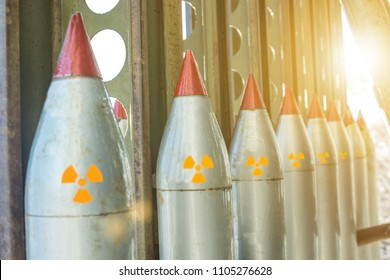 missiles are directed upwards, weapons of mass destruction, missile defense, nuclear chemical bomb.