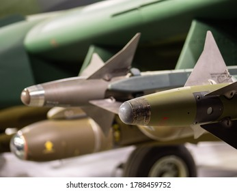 Missiles on an American Fighter Plane