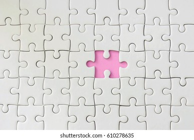 missing one piece of jigsaw puzzle