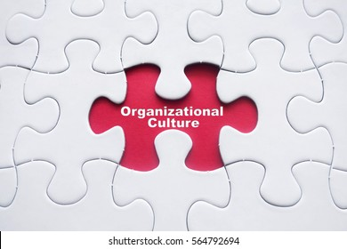 Missing puzzle with word: Organizational Culture