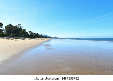 Mission Beach in Australia during the day
