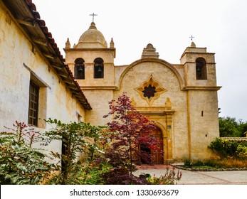 Mission Carmel Church - Carmel, California