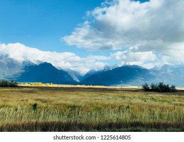The Mission Mountains Montana