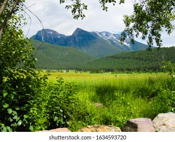 the Mission Mountains in St. Ignatius Montana