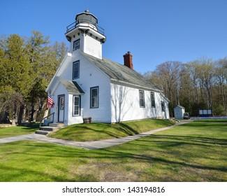 Mission Point Lighthouse Grand Traverse Bay, Michigan USA