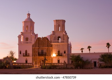 Mission San Xavier del Bac in Tohono O'odham Indian Reservation, Arizona
