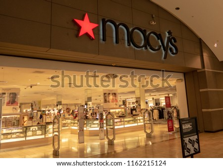119500e1502 ... 08222018 Macys Stock Photo (Edit Now) 1162215124 - Shutterstock. Mission  Viejo