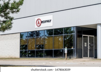 Mississauga, Ontario, Canada - August 11, 2019: Archway Canada Inc. head office in Mississauga, Ontario, Canada. Archway Canada Inc. Archway is a provider of marketing logistics, fulfillment services.
