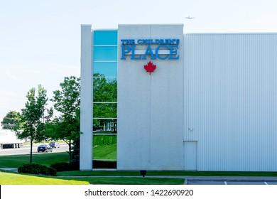 Mississauga, Ontario, Canada - June 07, 2019:  Children's Place (Canada) Lp head office in Mississauga, Ontario, Canada. Children's Place Inc. is an American specialty retailer of children's apparel.