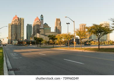 Mississauga skyline