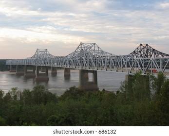 Mississippi River Bridge I-20 at Vicksburg