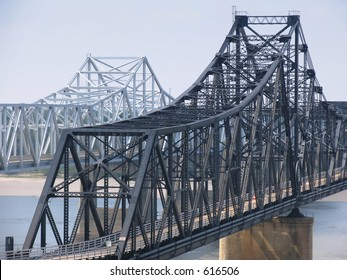 Mississippi River Bridges at Vicksburg