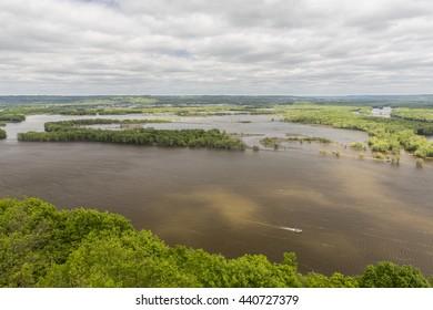 Mississippi River Scenic View