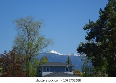 Missoula, Montana is surrounded by beautiful mountains and forests.