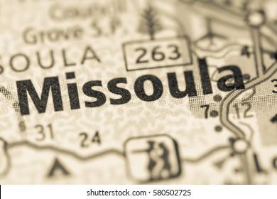 Missoula. Montana. USA