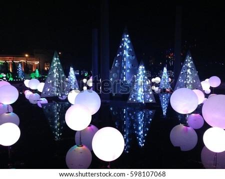 missouri botanical gardens christmas lights